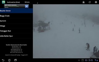 Screenshot of AusSnowCam (Free)