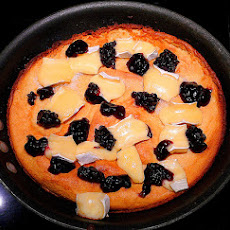 Baked Brie With Blueberry-Ginger Topping