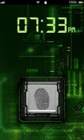 Screenshot of Fingerprint Scanner Lock