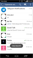 Screenshot of Telegram Ghost