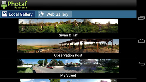 photaf-panorama-free for android screenshot