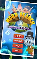 Screenshot of Word Search International