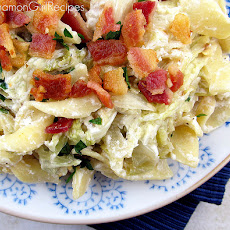 Bacon Sour Cream Noodle Surprise
