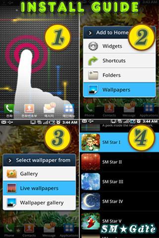 【免費個人化App】星光闪烁梦幻动态壁纸 IX-APP點子