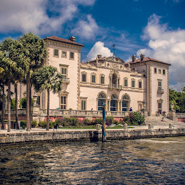 Vizcaya Museum and Gardens  by Ciprian  Popica - Buildings & Architecture Public & Historical ( miami, ocean, historical, museum, historic )