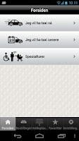 Screenshot of Asker Bærum Taxi