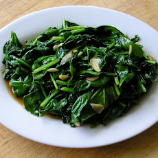 Garlic Spinach (Suan Bo Cai)