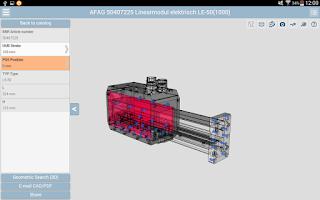 Screenshot of 3D CAD Models Engineering