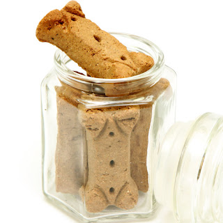 Chicken & Peanut Butter Dog Biscuits