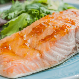 Salmon with Marmalade Glaze