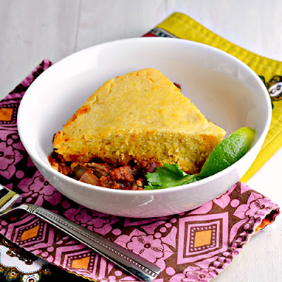 Slow Cooker Vegetarian Tamale Pie