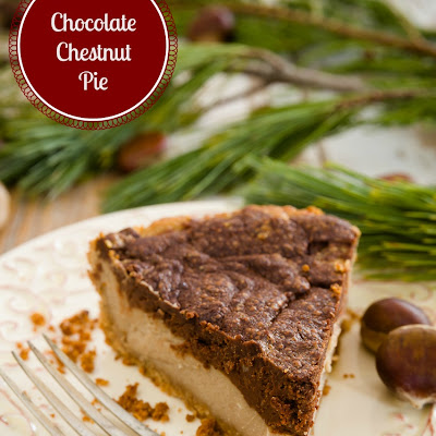 Must-Try Christmas Pie - Chocolate Chestnut Pie