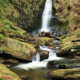 by Nerijus Liulys - Landscapes Waterscapes ( water, nature, welsh, waterfall )