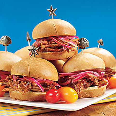 Barbecued-Pork Sliders