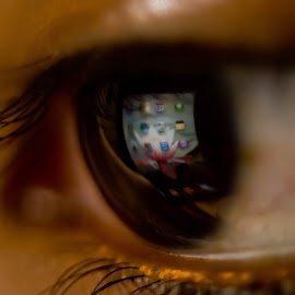 Eye Pad by Srinivasan Ka - Abstract Macro (  )