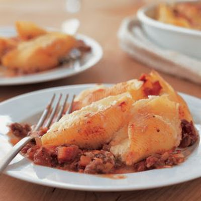 Stuffed Shells with Pork Ragù