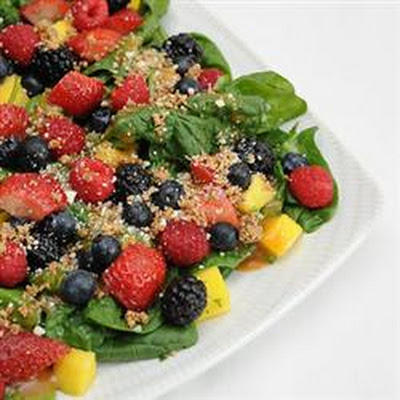 Mango Berry Fruit Salad