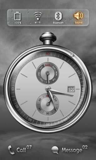Time Tears Watch MXHome Theme
