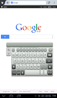 Screenshot of A.I.type Tablet Keyboard Free