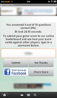 Screenshot of TV Quotes Trivia