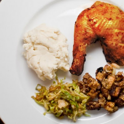 Cinnamon Harissa Roast Chicken (Turkey)