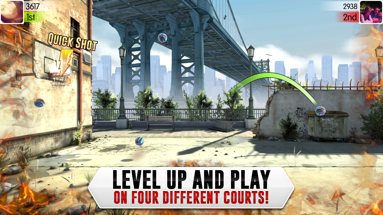 Slam Dunk Basketball 2 Screenshot 3
