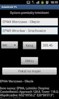 Screenshot of Aviadroid PL