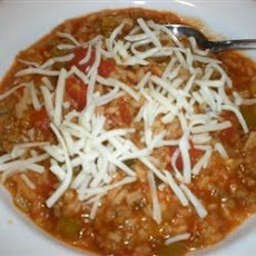 Stuffed Pepper Soup III