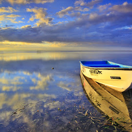 reflection by Dadock Antam - Landscapes Beaches