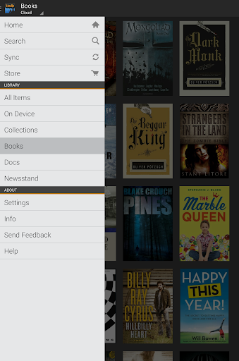 amazon-kindle for android screenshot