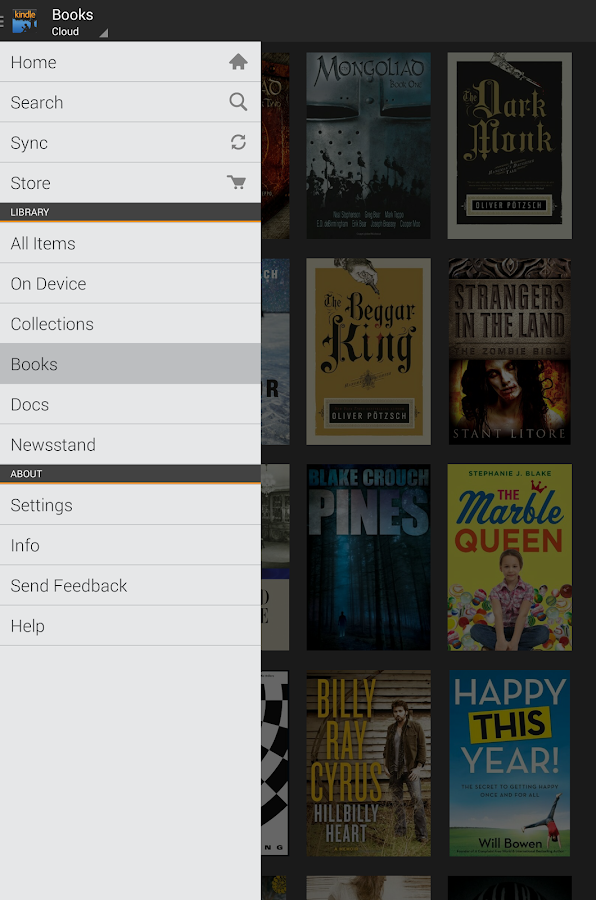 nice loose e-book websites for kindle