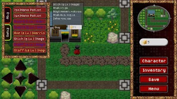Screenshot of RPG Las Kio Lean LITE
