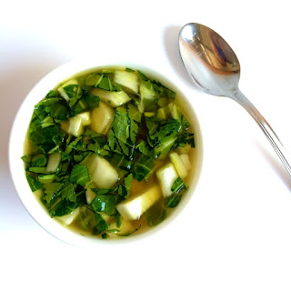 Simple Bok Choy Soup