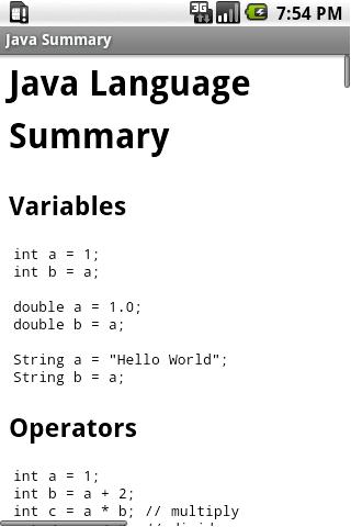 Java Summary 2