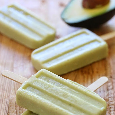 Avocado Coconut Popsicles