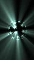 Screenshot of Real Disco Light 3D HD