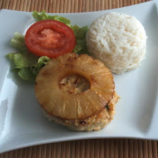 Chicken Burgers With Pineapple