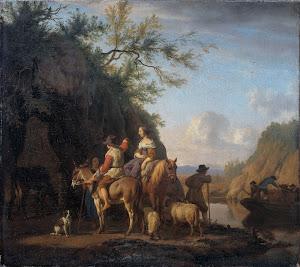 RIJKS: Adriaen van de Velde: painting 1666