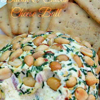 Bacon and Chives Cheese Ball
