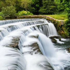 Monsal dale falls by Shakey Blade - Landscapes Waterscapes (  )