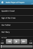 Screenshot of Learn the Catholic Prayers
