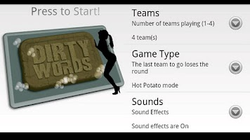 Screenshot of Dirty Words