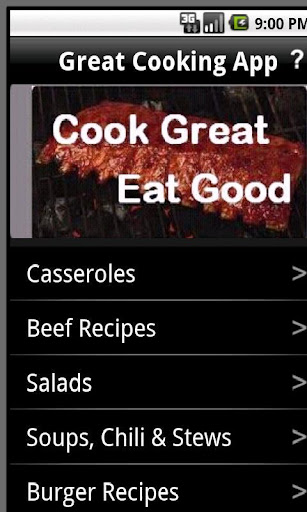 Easy Cooking App