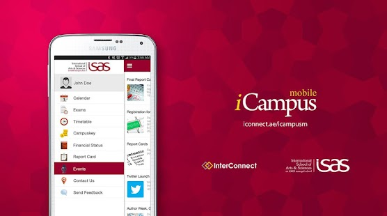 iCampus (ISAS) - screenshot