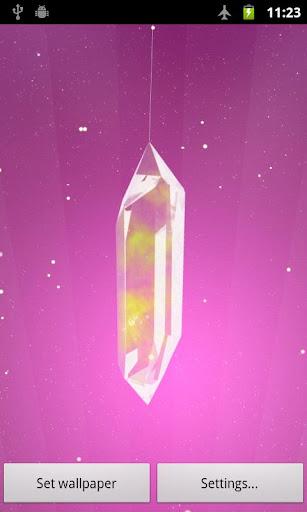 【免費個人化App】幸運水晶專業版動態桌布 Lucky Crystal-APP點子