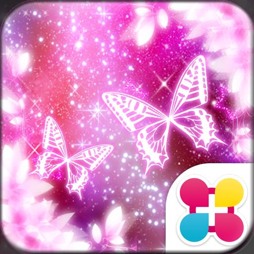 个人化のCosmo butterfly for[+]HOMEきせかえ LOGO-記事Game