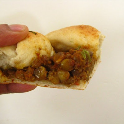 Green Lentil crostata