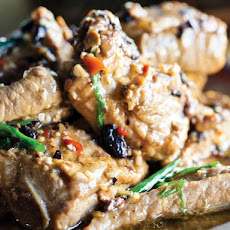 Charles Phan's Black Bean-Glazed Pork Spareribs