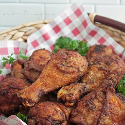 Southern Fried Chicken Recipe (Low Carb and Gluten Free)