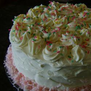 White Mountain Cake